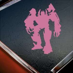 Transformers Pink Decal Barricade Truck Window Pink