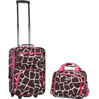 Rockland 2 piece Fashion Luggage Set, Carry on Luggage Set, 2 piece
