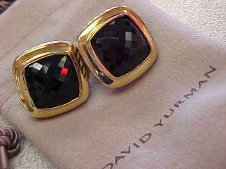 AUTHENTIC DAVID YURMAN 18k Gold & Sterling Silver Blue Sapphire