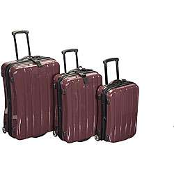 International Traveller 3 piece Polycarbonate Luggage Set