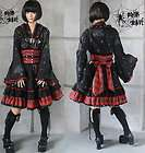 visual kei punk gothic kera lolita kimono dress nana m
