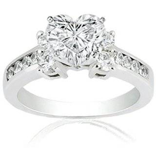 Discount Heart Shape Diamond Engagement Ring  Jewelry stores