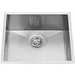 Vigo Square Stainless Steel Kitchen Sink