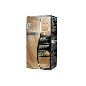 Calibrated Creme Hair Color, Extra Light Blonde # 10N   Kit: Beauty