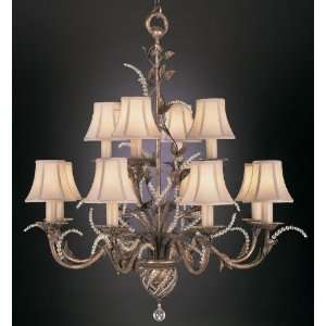 Fine Art Lamps A Midsummer Nights Dream 38 Twelve Light Chandelier in