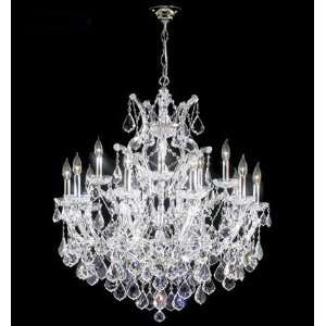 The Index Gallery Chandelier   Maria Theresa Grand Home Improvement