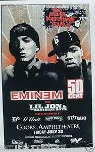 EMINEM / 50 CENT / LIL JON 2005 ANGER MANAGEMENT TOUR SAN DIEGO