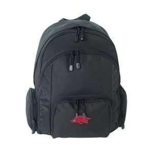 Mercury Luggage Arkansas Razorbacks Large Backpack   Razorbacks Black