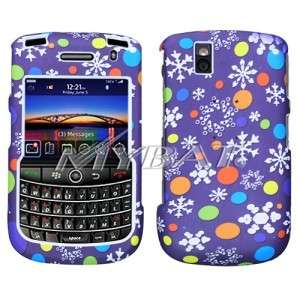 Purple Flake Hard Case Cover for BlackBerry Tour 9630
