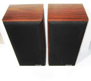 Vintage Polk Audio Monitor Series 5 bookshelf Speakers