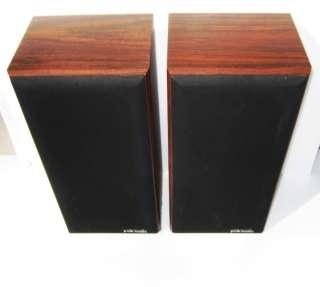 Vintage Polk Audio Monitor Series 5 bookshelf Speakers