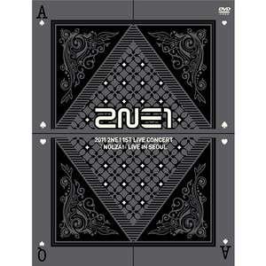 2NE1   NOLZA (2011 2NE1 1st Live Concert) 2 DVD+110p Photobook+Poster