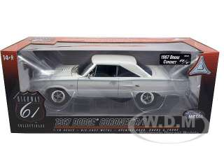 model of 1967 Dodge Coronet R/T 426 Hemi die cast car by Highway 61