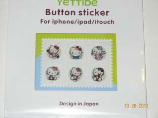Apple iPhone 4 / iPhone 4S   Hello Kitty Back Cover Hard Case w/ 6