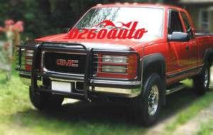1995 1999 Chevrolet Tahoe Black Grille Guard Push Bar