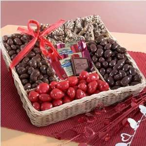 Golden State Love of Chocolate Valentines Day Gift Basket