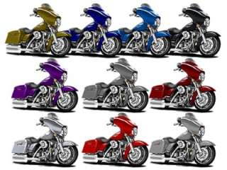 Harley Street Glide Motorcycle Cartoon Tshirt FREE