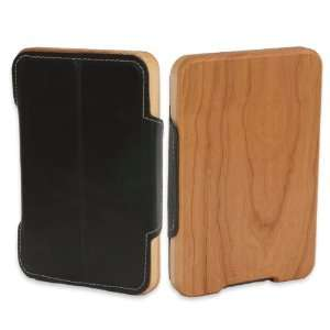 Kindle Fire Wood & Leather Case  Players & Accessories