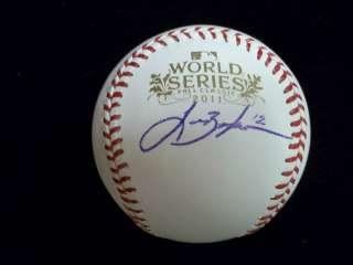 Berkman Signed 2011 World Series Baseball St. Louis Cardinals