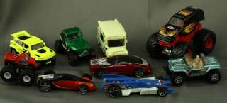 Lot Mixed Hot Wheel & Matchbox Toy Cars MAT Ice Cream Wagon Buick MBX