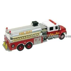 Boley HO Scale International 4300 3 Axle Crew Cab Fire