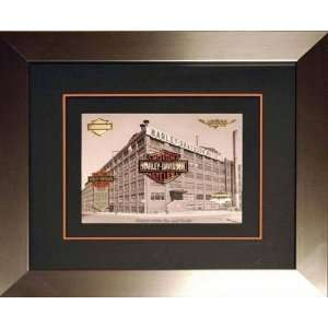 Harley Davidson® LIMTED EDITION Framed Bar & Shield Pin