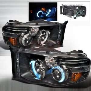 Dodge Dodge Ram Projector Headlights Black Performance