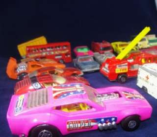 Lot of 25 Vintage Diecast Toy Cars Lesney Matchbox Superfast Corgi Hot