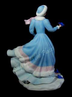 Lenox China 1998 NOELLE CHRISTMAS PRINCESS Figurine Hand Painted