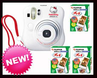 Fuji instax Hello Kitty mini 25 photo camera +30 Films
