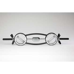 The Burn Machine The Universal Barbell   Color Black / Chrome at
