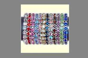 Crystal rhinestone stretch toe ring (10 color choices)