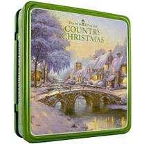 Thomas Kinkade Country Christmas 2 Disc Set w/ DVD
