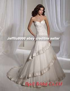 line Sweetheart Lacework BRIDAL WEDDING GOWNs/Dresses
