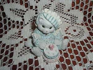 1993 Enesco Calico Kitten Sew Happy Its Your Birthday