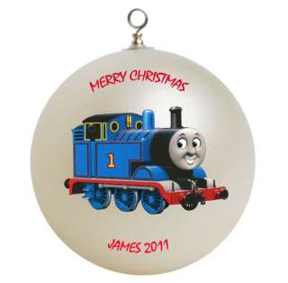 Personalized Thomas the Train Engine Christmas Ornament