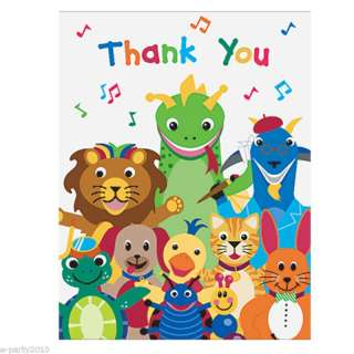 BABY EINSTEIN Birthday Party Supplies ~ THANK YOU NOTES 726528150446