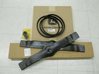 John Deere Timing Belt & Blades Freedom 42 Deck NIB |