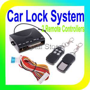 Central Lock Kit Locking Keyless Entry System with Remote Controllers