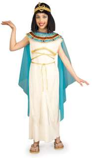 Deluxe Cleopatra Egyptian Queen Child Costume Size M Medium 8 10 NEW