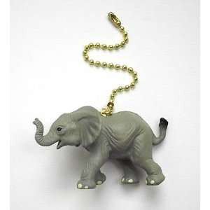 Baby African Elephant Ceiling Fan Light Pull Everything