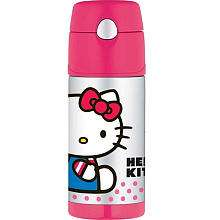Thermos FUNtainer Beverage Bottle   Pink Hello Kitty   Thermos   Toys