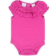 Koala Baby Girls Ruffle Bodysuit   Pink (12 Months)   Babies R Us