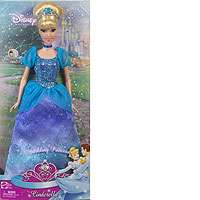 Disney Princess Sparkling Princess Cinderella Doll   Mattel   Toys