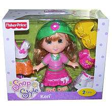 Fisher Price Snap n Style Doll   Keri(Colors Vary)   Fisher Price