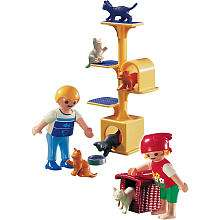 Playmobil Animal Clinic Playset Cat Scratch Tree   Playmobil   Toys