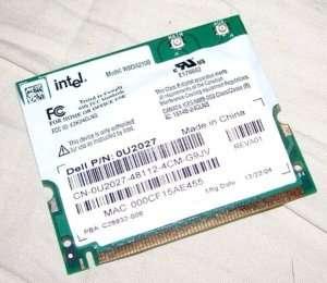 Dell latitude C610 C640 C840 D600 Wireless Wi Fi card