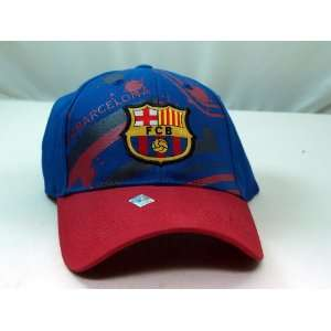 FC BARCELONA OFFICIAL TEAM LOGO CAP / HAT   FCB009 Sports