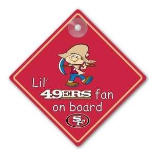 NFL San Francisco 49ers Car Sign
