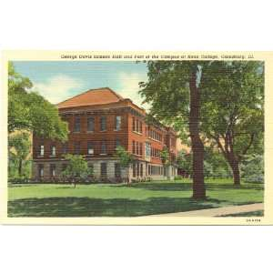 Science Hall and Part of the Campus at Knox College Galesburg Illinois
